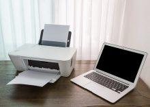 パソコンとプリンター
